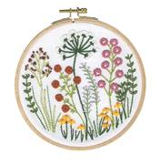 DMC Country Classic Floral Embroidery Kit