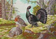 Gobelin-L Woodland Grouse Tapestry Canvas