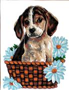 Gobelin-L Jack Russell Puppy Tapestry Canvas