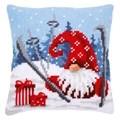 Vervaco Apres Ski Gnome Cushion Christmas Cross Stitch Kit