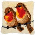 Vervaco Robin Pair Cushion Latch Hook Kit