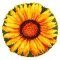 Vervaco Sunflower Latch Hook Rug Latch Hook Kit