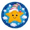 Vervaco Little Star Latch Hook Rug Latch Hook Kit