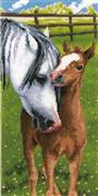 Vervaco Horse and Foal Cross Stitch Kit