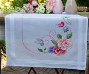 Vervaco Flowers and Butterflies Runner Cross Stitch Kit
