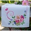 Vervaco Classic Flower Bouquet Runner Cross Stitch Kit