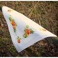 Vervaco Pumpkins Tablecloth Cross Stitch Kit