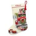 Dimensions Santa's Truck Stocking Christmas Cross Stitch Kit