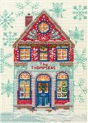 Dimensions Holiday Home Christmas Cross Stitch Kit