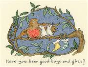 Bothy Threads Have you been good? Christmas Cross Stitch Kit