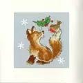 Bothy Threads Christmas Friends Card Making Cross Stitch Kit