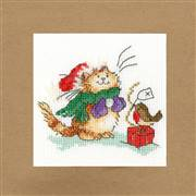 Bothy Threads Just For You Christmas Card Making Cross Stitch Kit