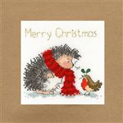 Bothy Threads Christmas Wishes Card Making Cross Stitch Kit
