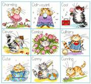 Bothy Threads It's a Cats Life Cross Stitch Kit