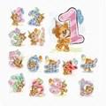 Luca-S Teddy Numbers Cross Stitch Kit