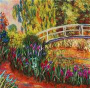 Panna Irises by the Pond Embroidery Kit