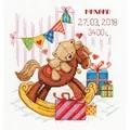 Panna Gifts for you Sampler Birth Sampler Cross Stitch Kit
