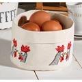 Permin Chicken Talk Basket Cross Stitch Kit