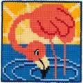 Permin Flamingo Cross Stitch Kit