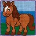 Permin Horse Cross Stitch Kit