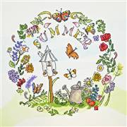 Bothy Threads Summer Time Floral Cross Stitch Kit