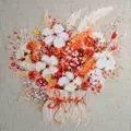 RIOLIS Lagurus and Cotton Floral Cross Stitch Kit