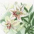 RIOLIS White Lilies Floral Cross Stitch Kit