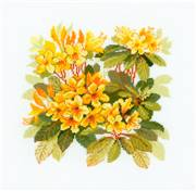 RIOLIS Rhododendron Floral Cross Stitch Kit