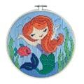 Needleart World Mermaid Song Long Stitch Kit