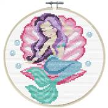Needleart World Mermaid Dreams No Count Cross Stitch Kit