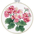 Needleart World Primavera Floral No Count Cross Stitch Kit