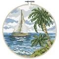 Needleart World Sailing Away No Count Cross Stitch Kit