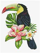 Needleart World Toucan look Out No Count Cross Stitch Kit