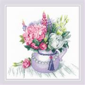 RIOLIS Floral Charm Cross Stitch Kit