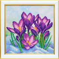 VDV Crocuses Floral Embroidery Kit