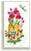 Panna Flowers and Dragonfly Floral Embroidery Kit