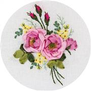 Panna Gentle Fragrance Floral Embroidery Kit
