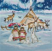 Panna The Starry Country Christmas Cross Stitch Kit