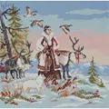 Panna Mistress of the Tundra Christmas Cross Stitch Kit
