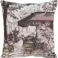 Panna Paris Cafe Cushion Cross Stitch Kit