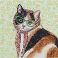 Dimensions Mama Cat Cross Stitch Kit
