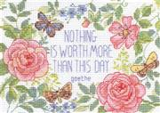 Dimensions This Day Verse Cross Stitch Kit