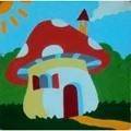 Gobelin-L Mushroom House Tapestry Kit