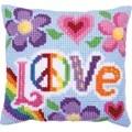 Needleart World Love Always No Count Cross Stitch Kit