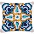Needleart World Sienna Tile No Count Cross Stitch Kit