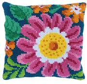 Needleart World Summer Day Floral No Count Cross Stitch Kit