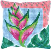Needleart World Paradise Bloom Floral No Count Cross Stitch Kit
