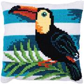 Needleart World Toucan Journey No Count Cross Stitch Kit