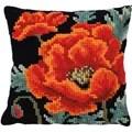 Needleart World Poppy Bloom No Count Cross Stitch Kit