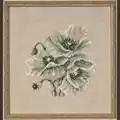 Permin Poppies - Linen Cross Stitch Kit